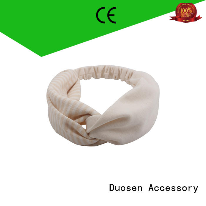 Duosen Accessory New cloth hairband Supply for daily Life
