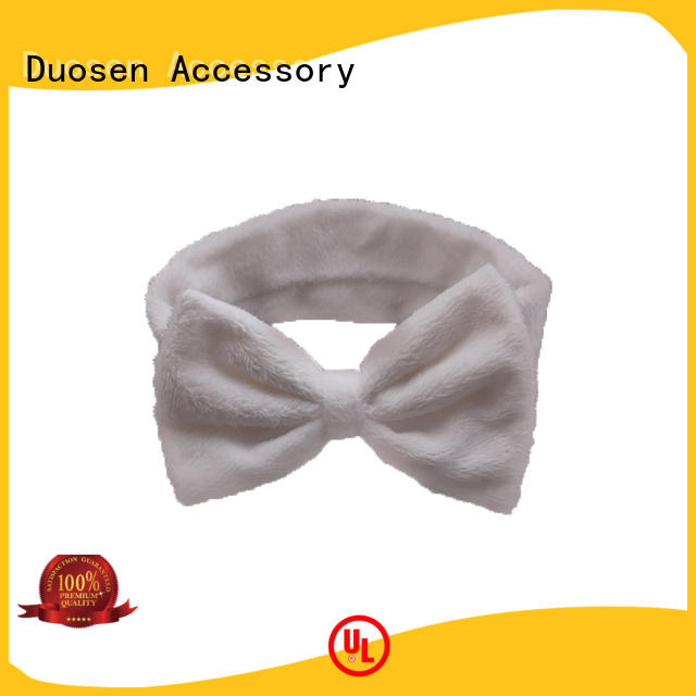 Duosen Accessory unique fabric tie headbands manufacturers for daily Life