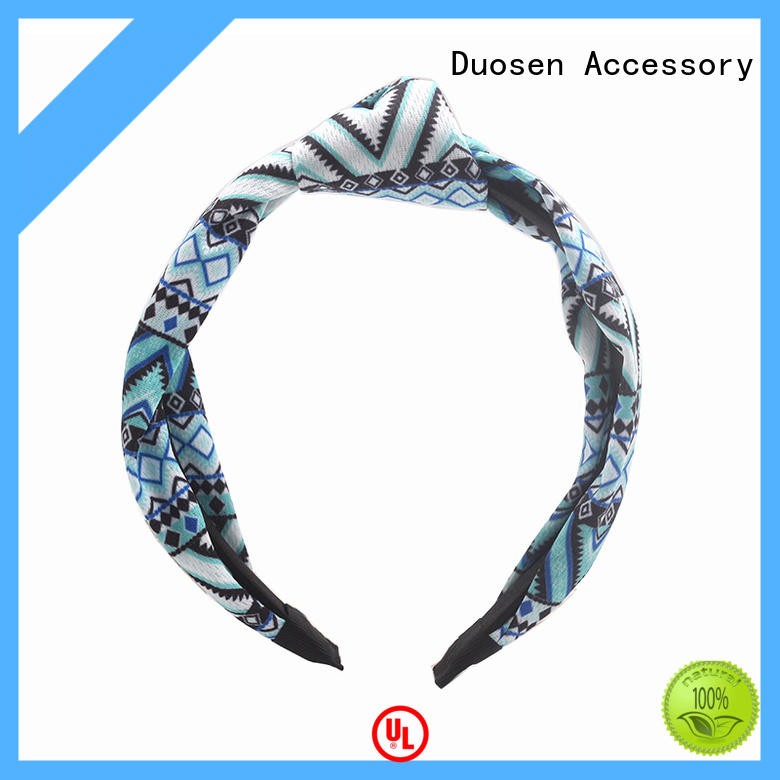 elegant organic fabric hairband keep your hair style for dancer