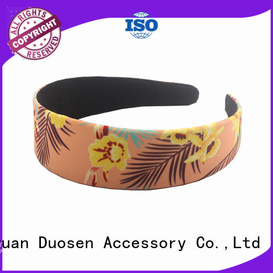 Duosen Accessory unique fabric alice band series for prom