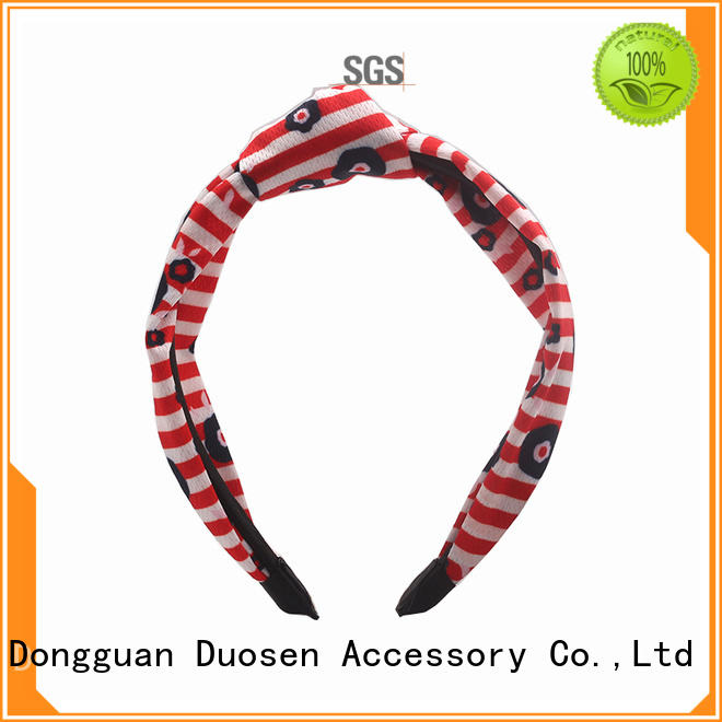 Duosen Accessory New fabric headbands wholesale Suppliers for prom
