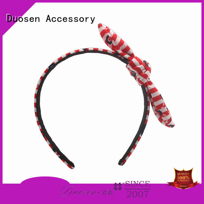 Duosen Accessory milk fabric headband manufacturers for daily Life