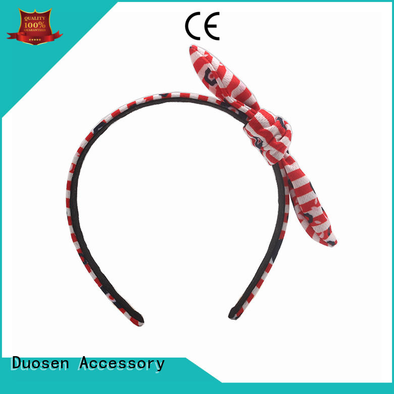 Duosen Accessory three fabric headband series for party