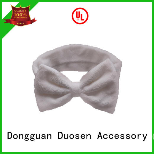 Duosen Accessory charming cloth headbands manufacturer for dancer