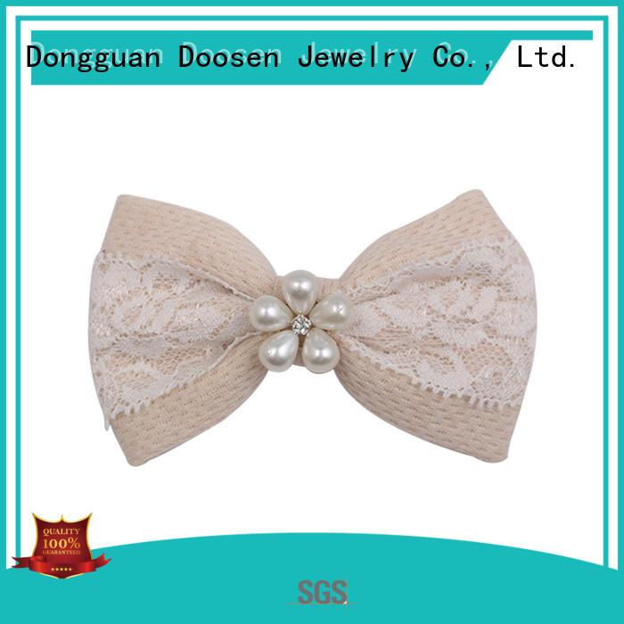 organic fabric girls hair clip hawaii eco Warranty Duosen Accessory