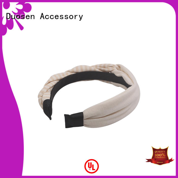 Custom fabric headbands selling factory for running