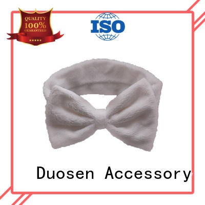Duosen Accessory ecofriendly organic fabric hairband manufacturers for party