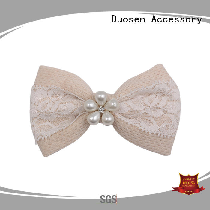 Duosen Accessory fancy hair clips for girls pearl for women
