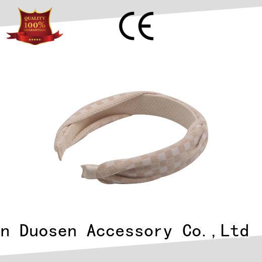 Duosen Accessory elegant cloth headbands series for dancer