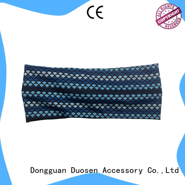 Duosen Accessory Top organic fabric hairband for business for prom