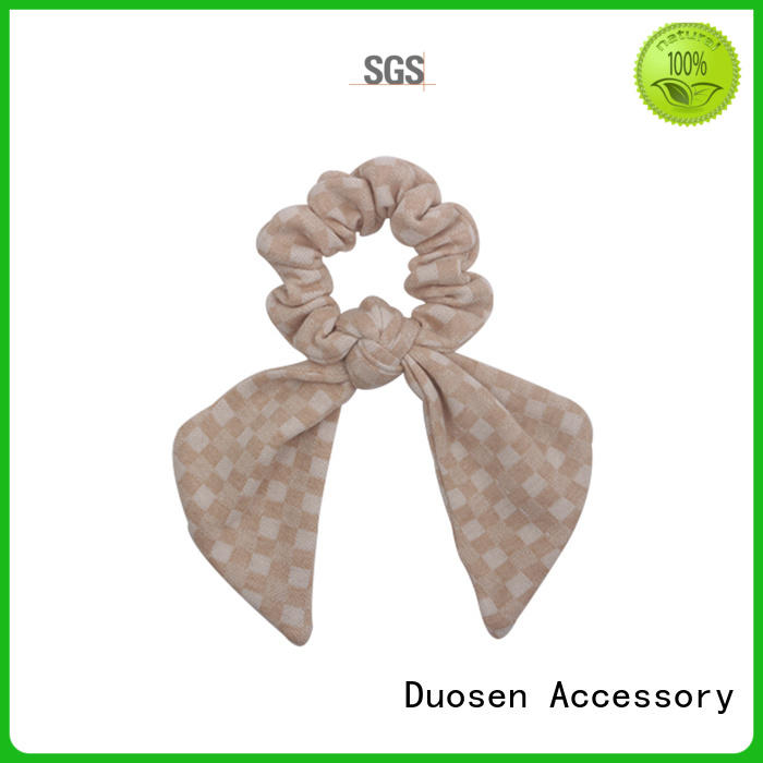 Latest scrunchie hair ties organic company for daily life