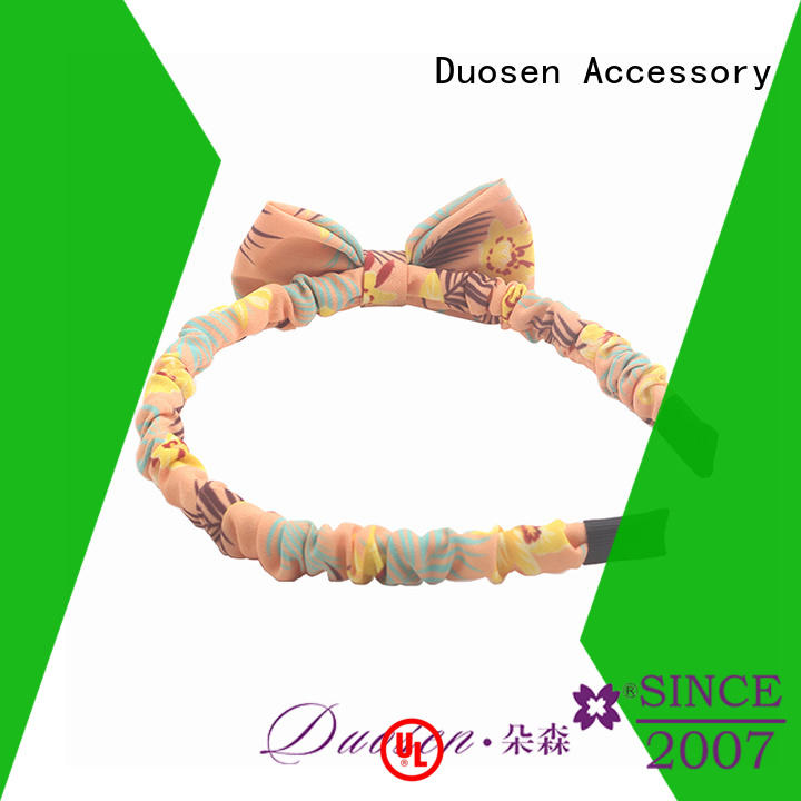 Duosen Accessory charming fabric headbands series for prom