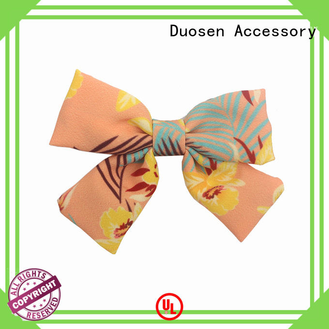 Duosen Accessory online mini fabric bows supplier for women