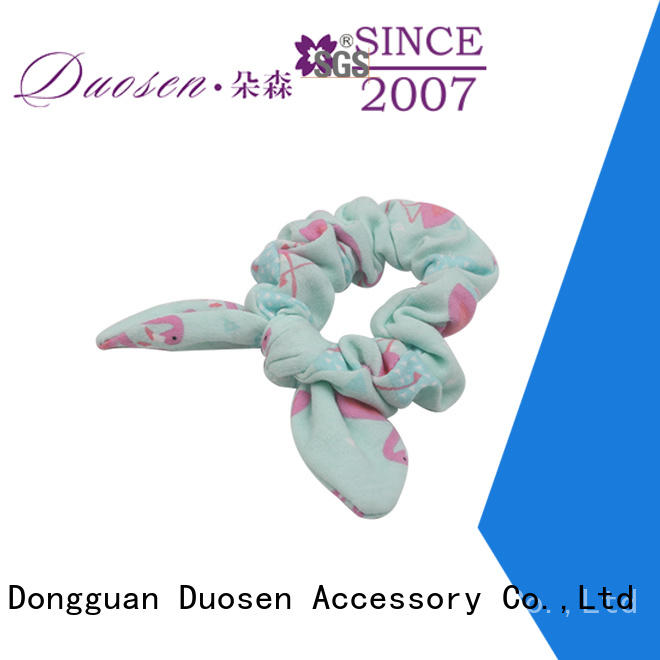 Duosen Accessory New scrunchie hair ties factory for women