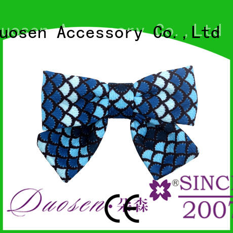 Duosen Accessory New how to make fabric bows for headbands manufacturers for women