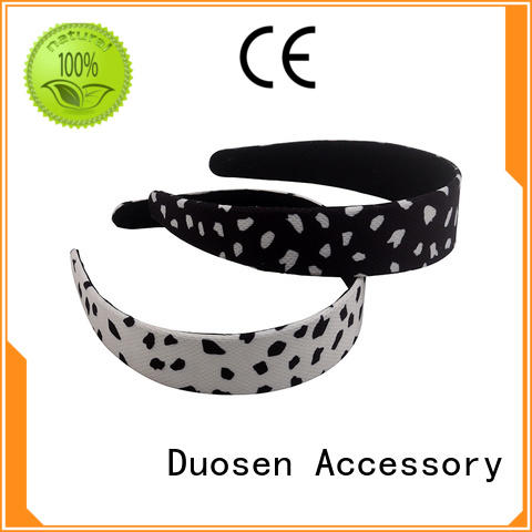 convinent Recycled fabric elastic headband supplier for daily Life Duosen Accessory