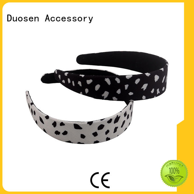 Duosen Accessory Best fabric tie headbands Supply for party