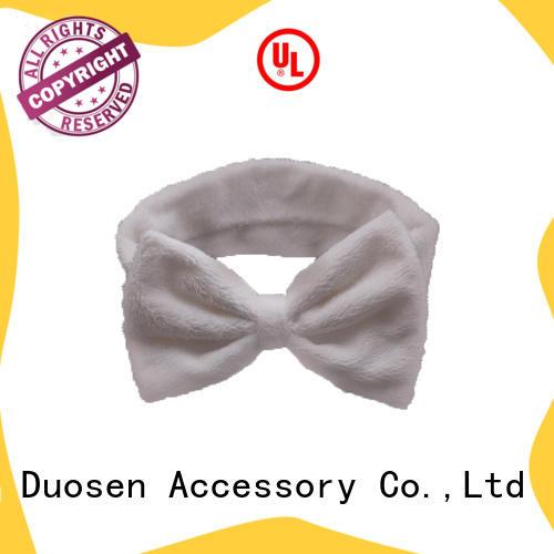Duosen Accessory unique cotton turban headband company for daily Life