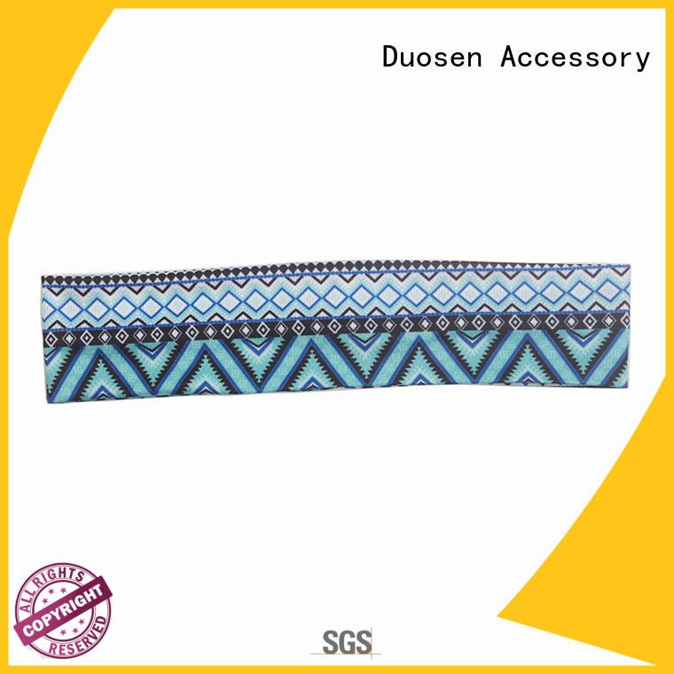 Duosen Accessory organic fabric alice band company for daily Life