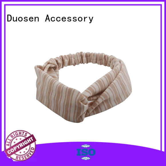Best twisted fabric headband unique company for party
