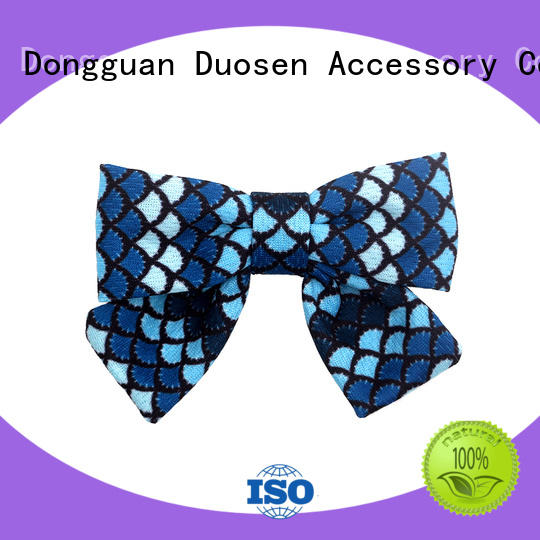 Duosen Accessory eco how to make ribbon hair clips Supply for party
