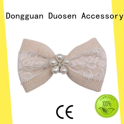 Duosen Accessory lace flower hair clip craft company for daily life