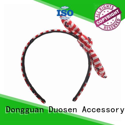 Custom cheap fabric headbands wave manufacturers for sports