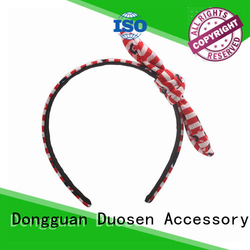 Top organic fabric hairband changeable company for daily Life