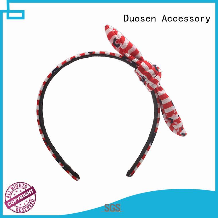 organic material cross headband flowers black organic fabric headband manufacture