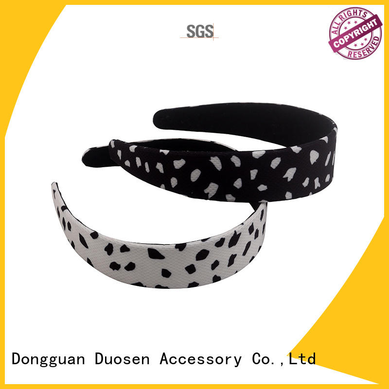 Duosen Accessory Best wire fabric headband factory for party