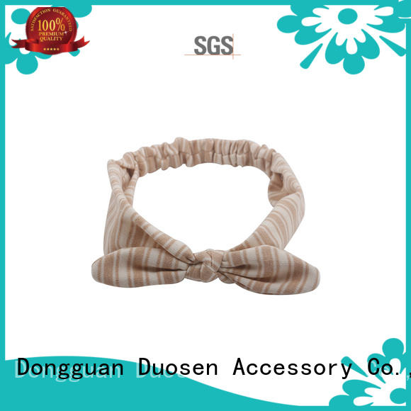 Duosen Accessory sides twisted fabric headband supplier for sports