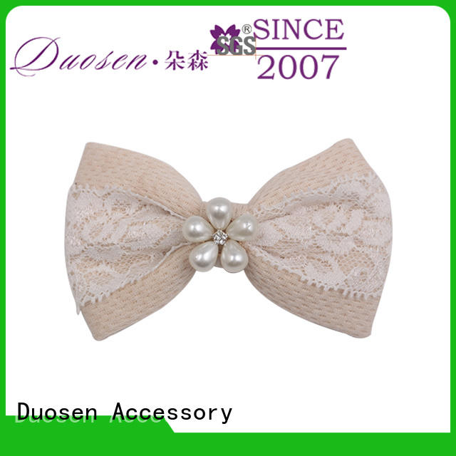 color fabric hair clip for girls wholesale for girls