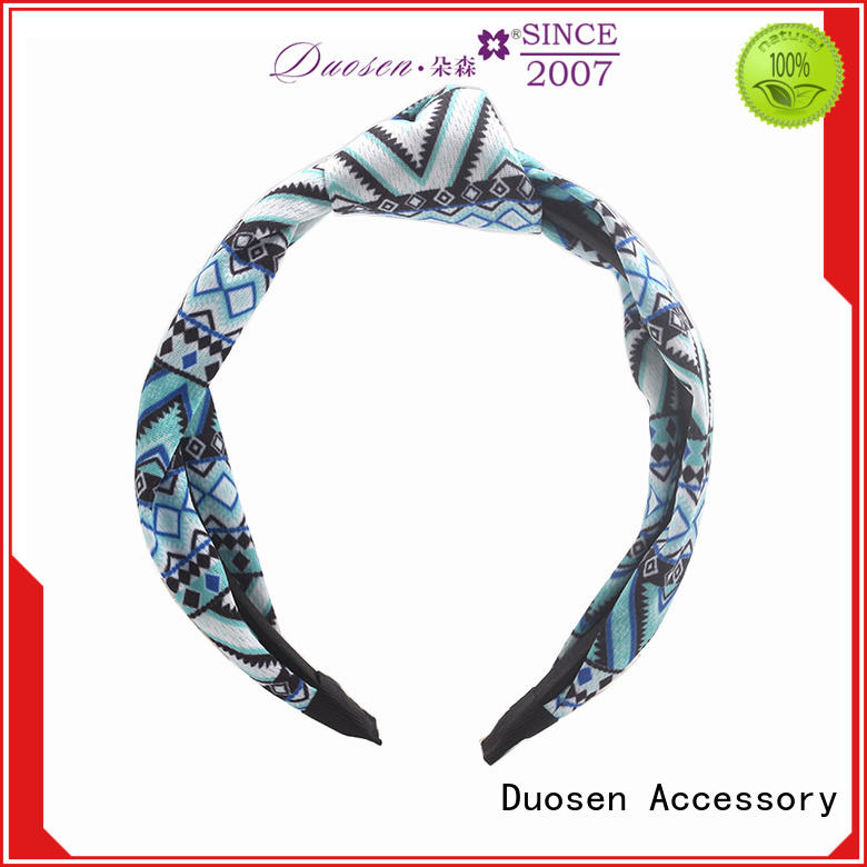 Latest organic fabric hairband sides manufacturers for daily Life
