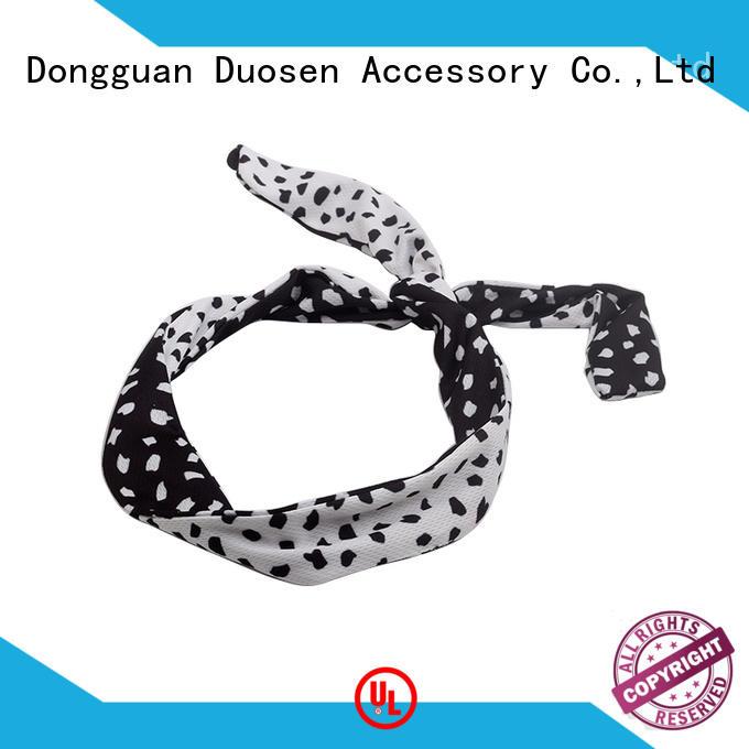 Duosen Accessory unique organic cotton headband series for sports