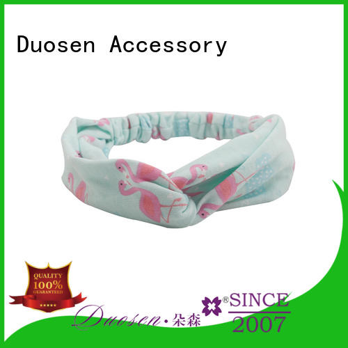 Latest cloth hairband accessories factory for prom