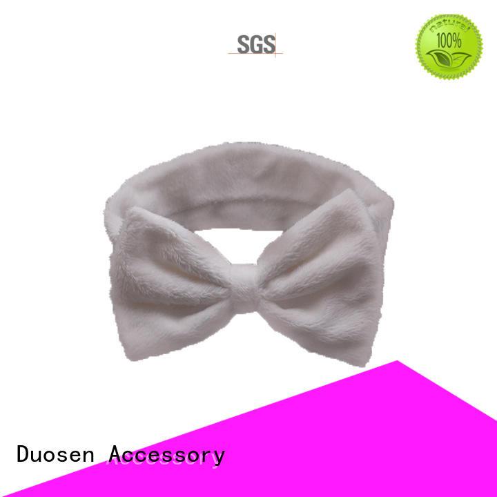bright accessories special organic fabric headband Duosen Accessory Brand company