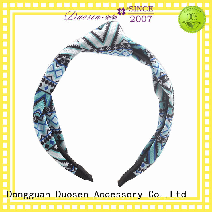 Duosen Accessory lightweight cloth hairband supplier for party