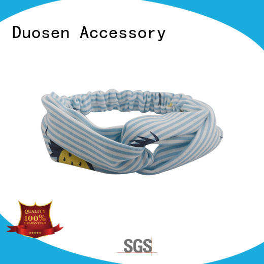 Duosen Accessory New fabric elastic headbands Supply for running