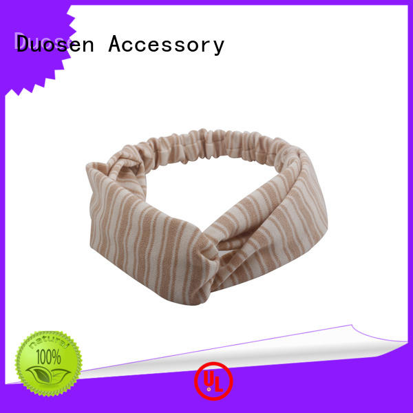 Duosen Accessory light cloth hairband customized for sports