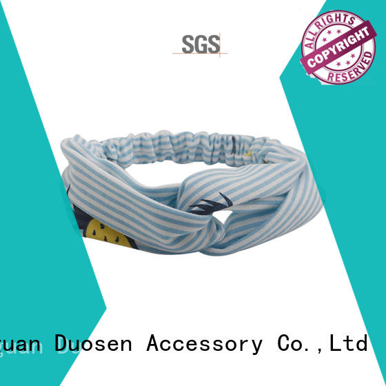 Duosen Accessory charming womens fabric headbands customized for daily Life
