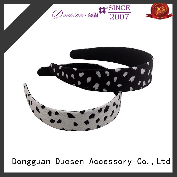 lightweight womens fabric headbands print wholesale for daily Life