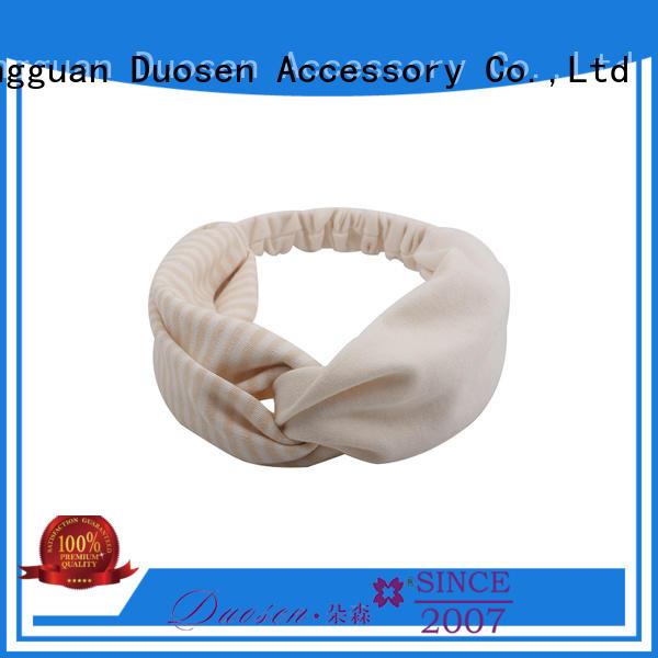 Duosen Accessory hawaii fabric bow headband manufacturers for party