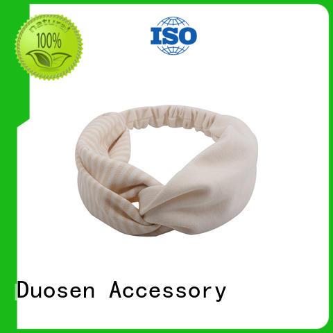 Custom turban headband environmentally Supply for dancer