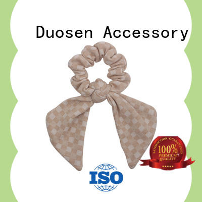 Duosen Accessory lightweight scrunchie hair ties gentle on your hair for women