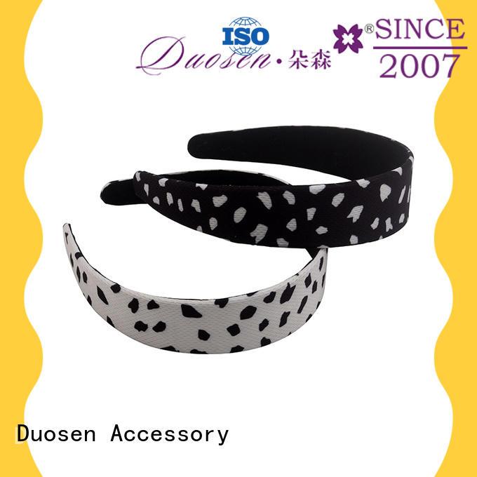 Duosen Accessory New womens fabric headbands Suppliers for dancer