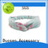 milk Custom design organic fabric headband bow Duosen Accessory
