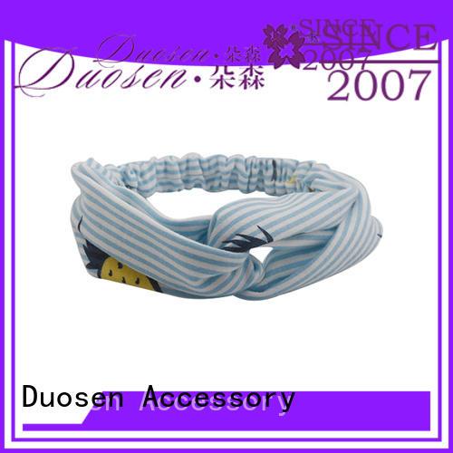 OEM womens fabric headbands cow manufacturer for dancer