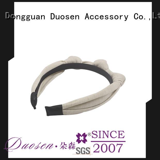 Duosen Accessory headband girls fabric headbands factory for dancer