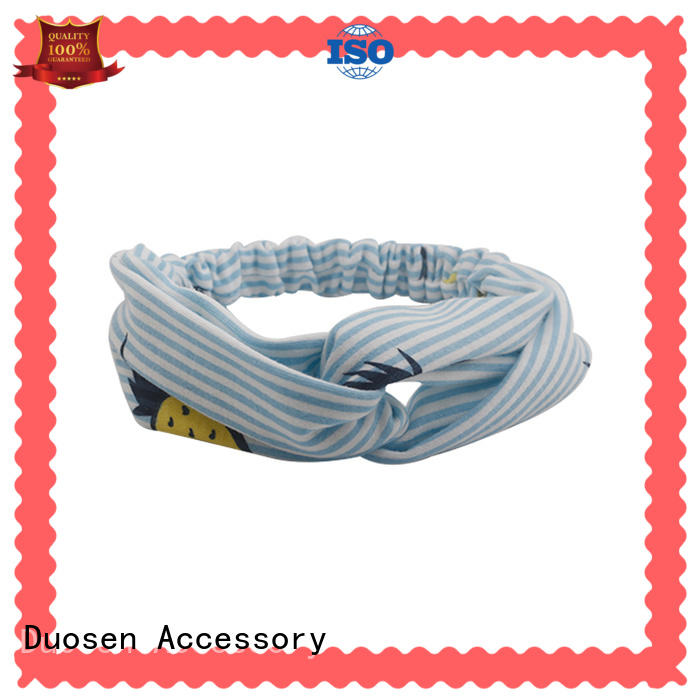 Wholesale twisted fabric headband flowers Supply for daily Life