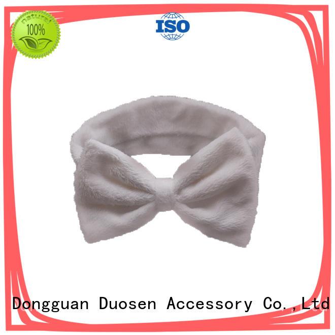 Duosen Accessory Wholesale organic cotton headband Suppliers for prom